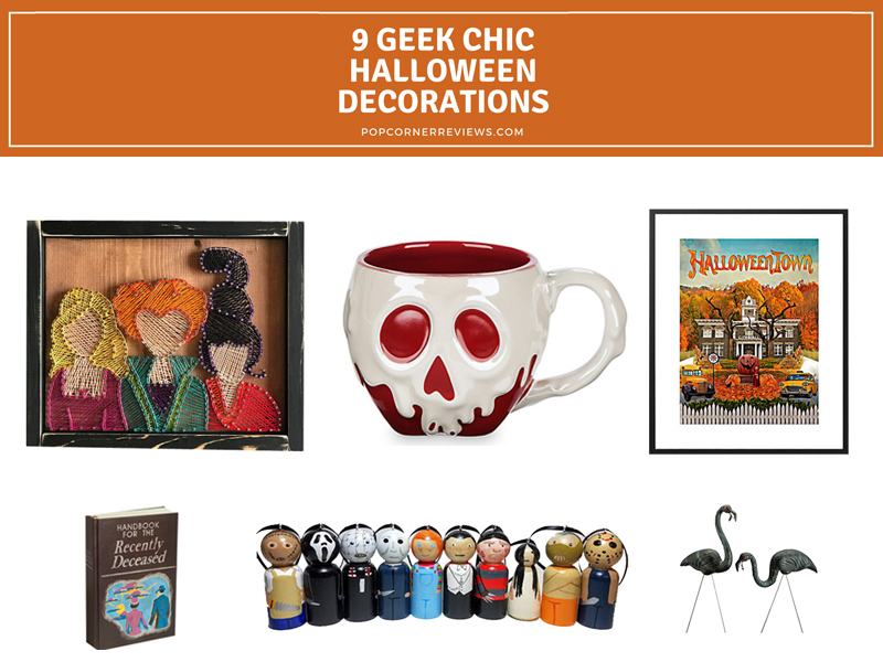 9 Geek Chic Halloween Decorations