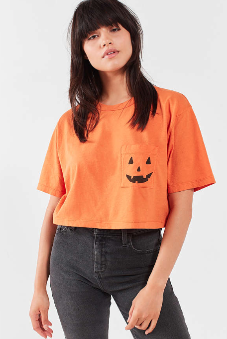 Jack O'Lantern Crop Top – Urban Outfitters