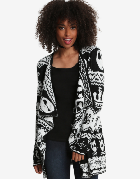 The Nightmare Before Christmas Cardigan – BoxLunch