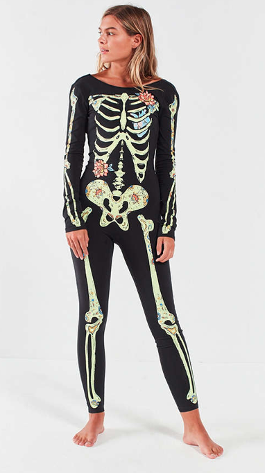 Skeleton Body Suit – Urban Outfitters