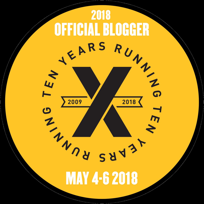 2018 Official Blogger Button 1