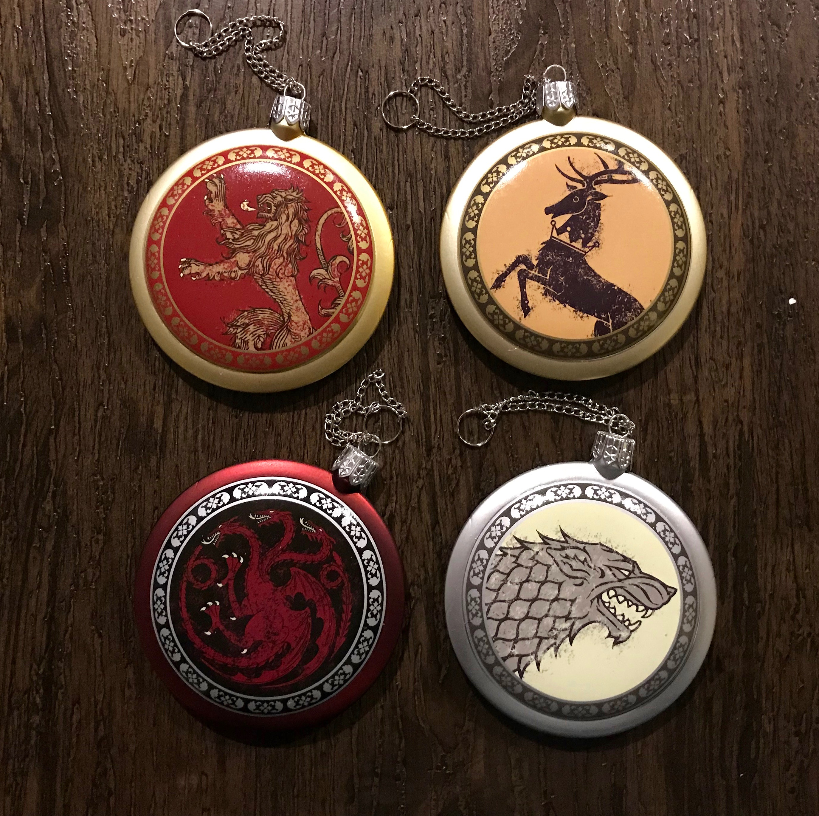 BoxLunch Game of Thrones Ornament Set