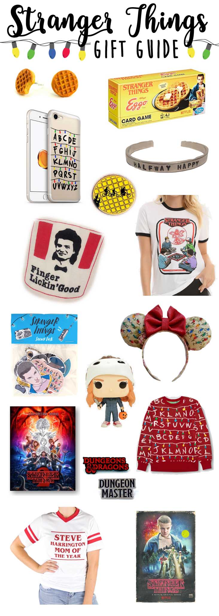Gift ideas for the Stranger Things fan