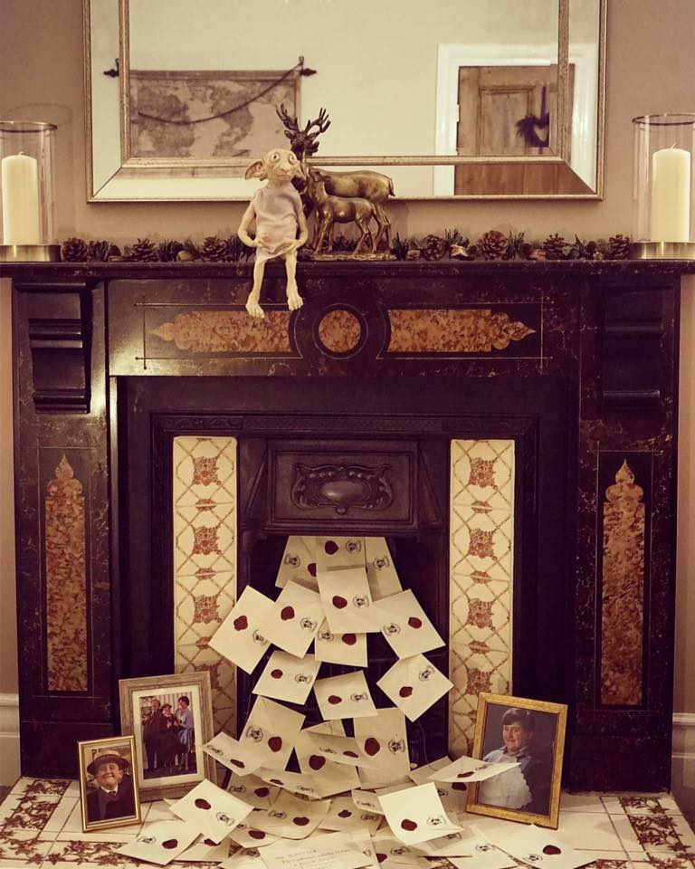 Harry Potter Fireplace copy