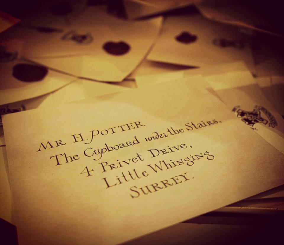 Mr H Potter Letter