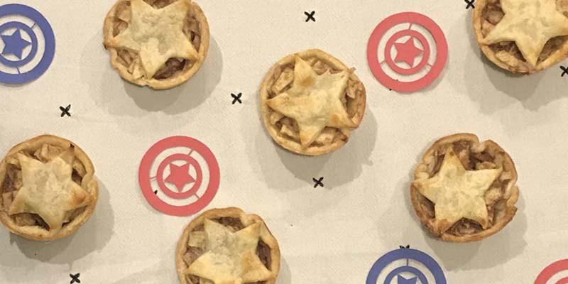 Captain America Apple Pie