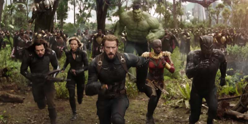 Countdown to Avengers: Infinity War with a Marvel Movie Marathon