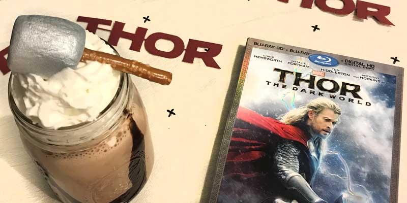 Thor's Favorite S'mores Milkshake