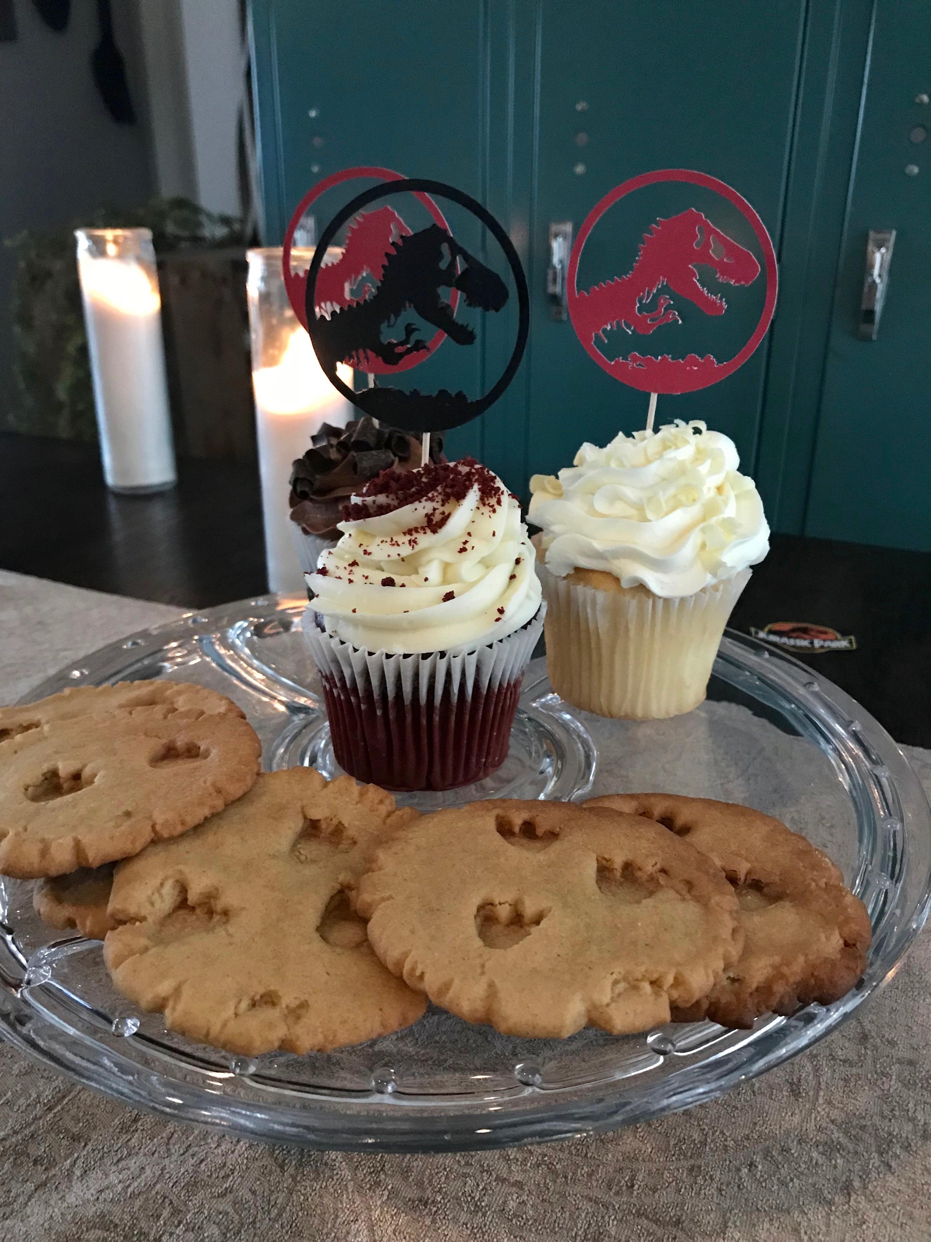 Jurassic Park Cupcakes