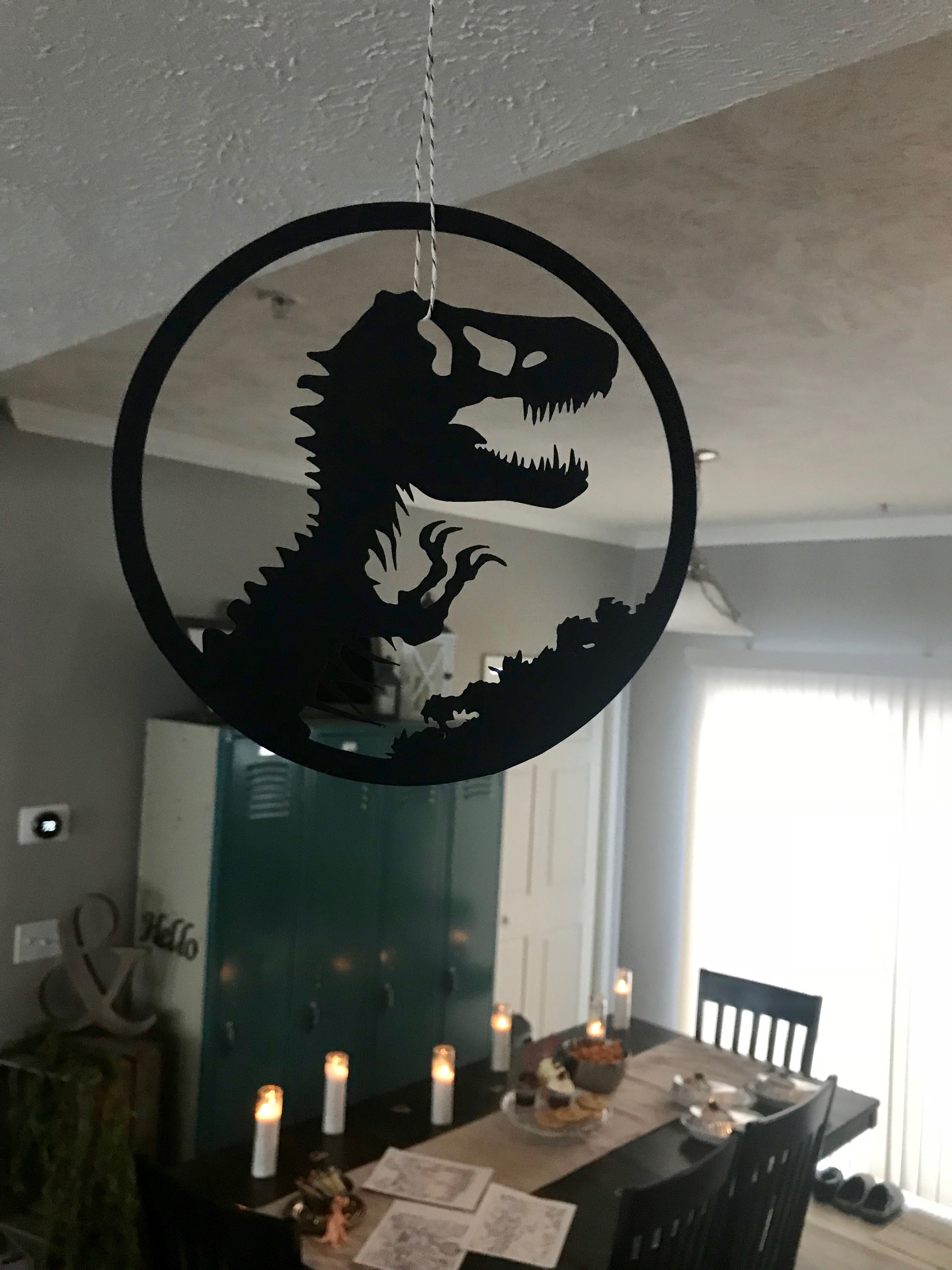 Jurassic Park Decorations