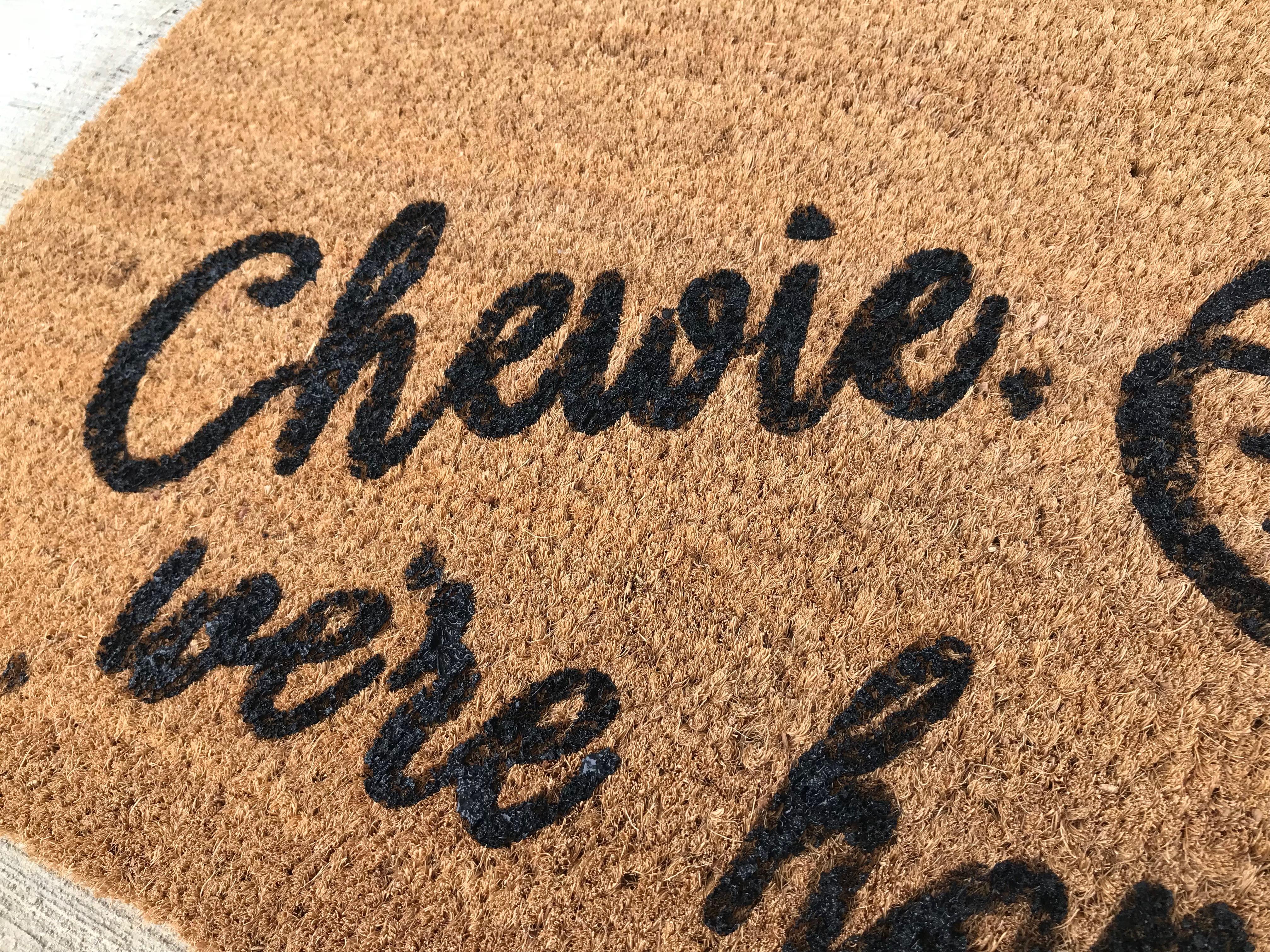 Chewie Doormat