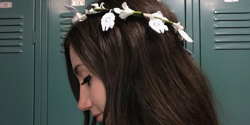 Star Wars Flower Crown Tutorial