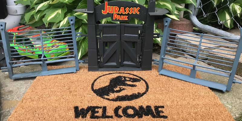 DIY: Welcome (Mat) to Jurassic Park