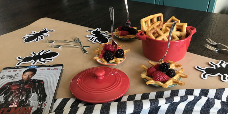 Let's Do Brunch: Ant-Man Mini Waffles
