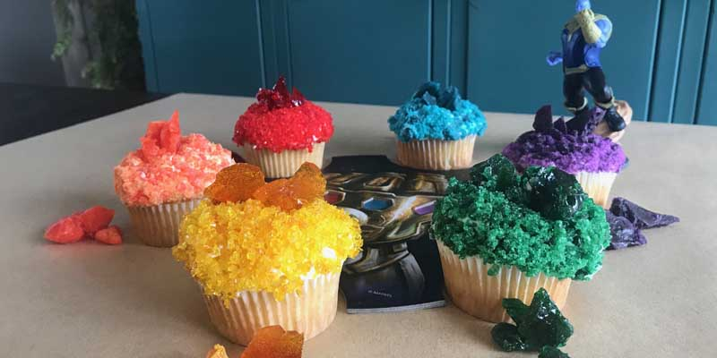Infinity Stone Cupcakes – An Avengers: Infinity War Recipe