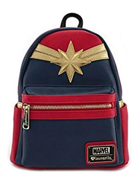 Captain Marvel Loungefly Mini Backpack