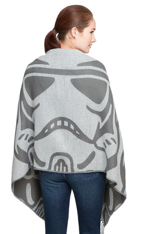 Star Wars Stormtrooper Blanket Scarf from ThinkGeek