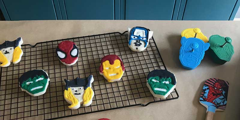 How to Decorate Avengers Cookies