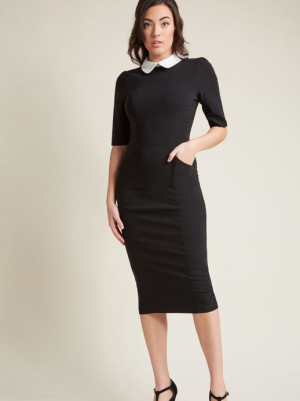 Wednesday Adams Sheath Dress