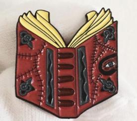 Hocus Pocus Book Pin