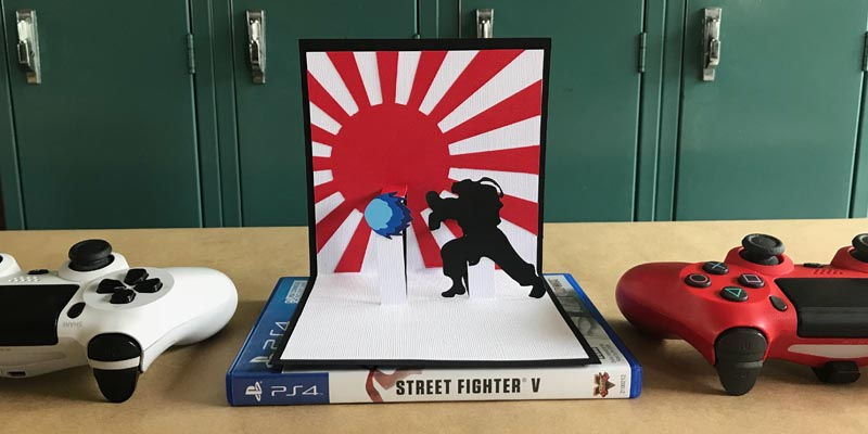 Street Fighter Pop-Up Cards & the History of Street Fighter with DSRA Podcast