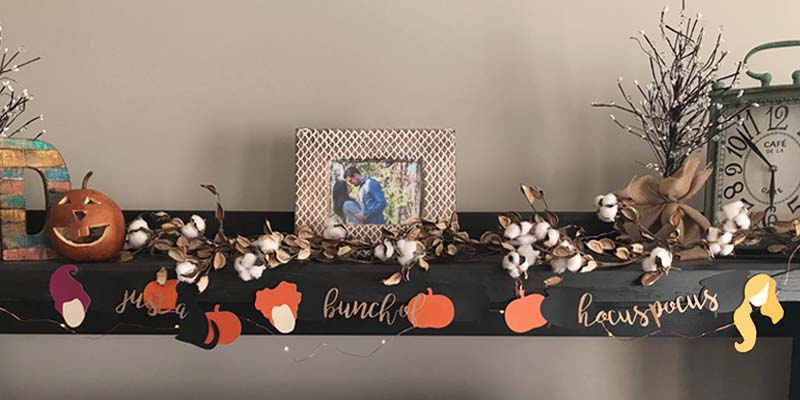 DIY: Hocus Pocus Decorative Halloween Garland