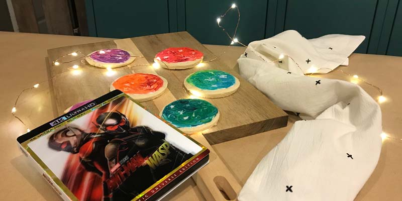 Quantum Realm Cookies – An Ant-Man and the Wasp Recipe