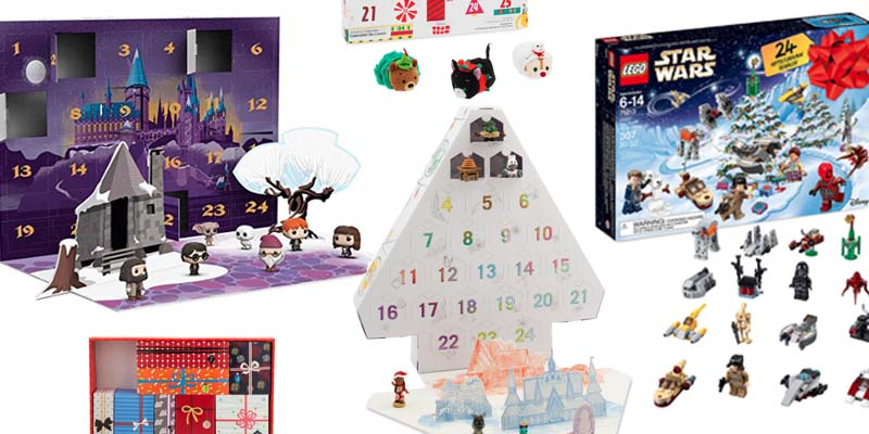 2018 Geeky Advent Calendars
