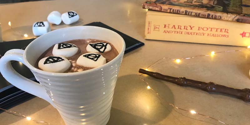 Drink Up! Deathly Hallows Hot Chocolate