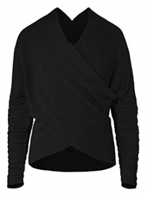 Rey Musterbrand Sweater in Black
