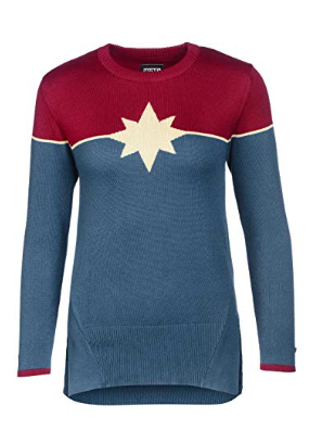 Musterbrand Captain Marvel Sweater