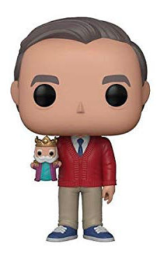 Mr. Rogers Funko Pop with Puppet