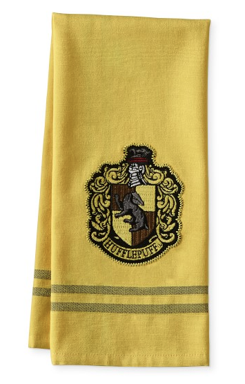 Hufflepuff Dish Towel from Williams Sonoma