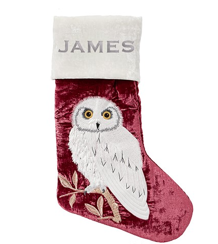 Hedwig Stocking from Pottery Barn