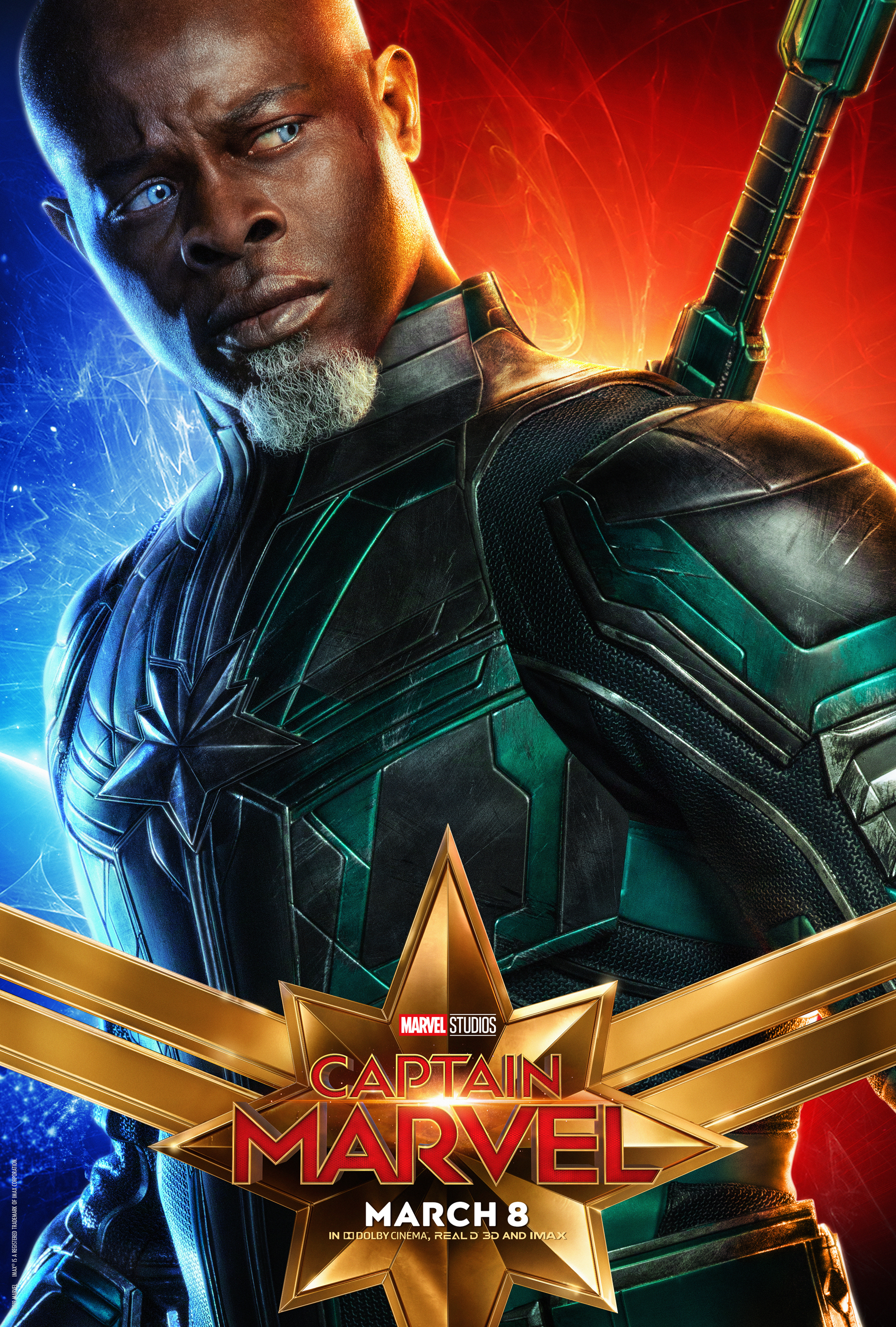 Collect Them All! New Captain Marvel Character Posters Are