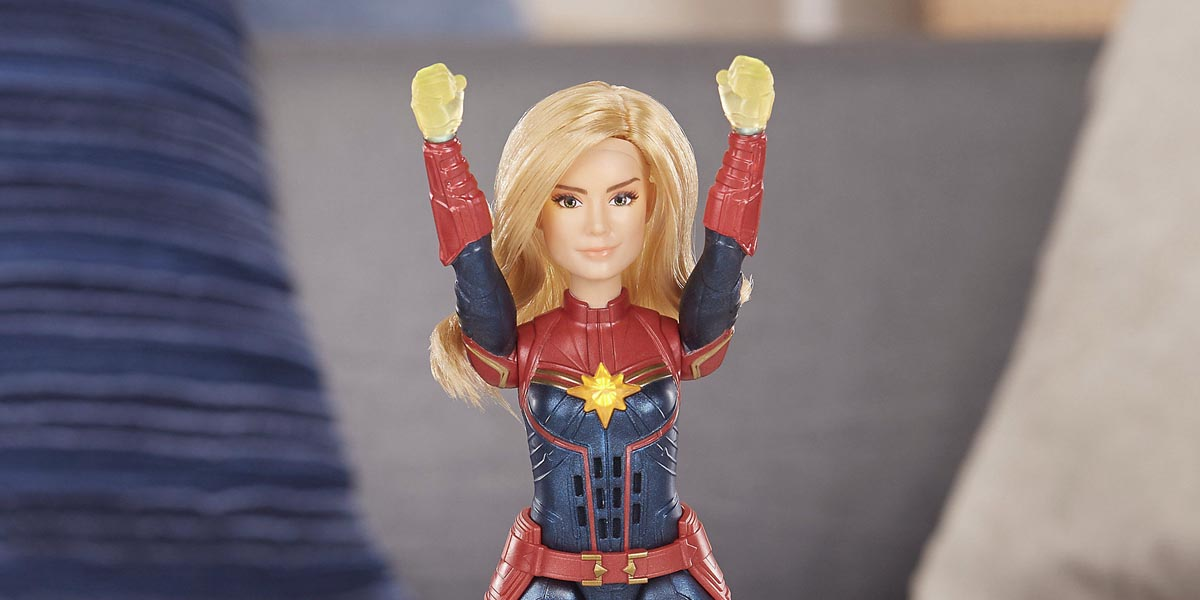 Captain Marvel Dolls by Hasbro