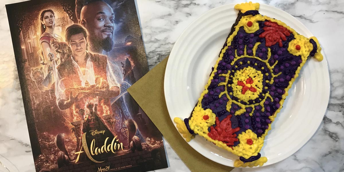 Aladdin's Magic Carpet Brownies & New Trailer
