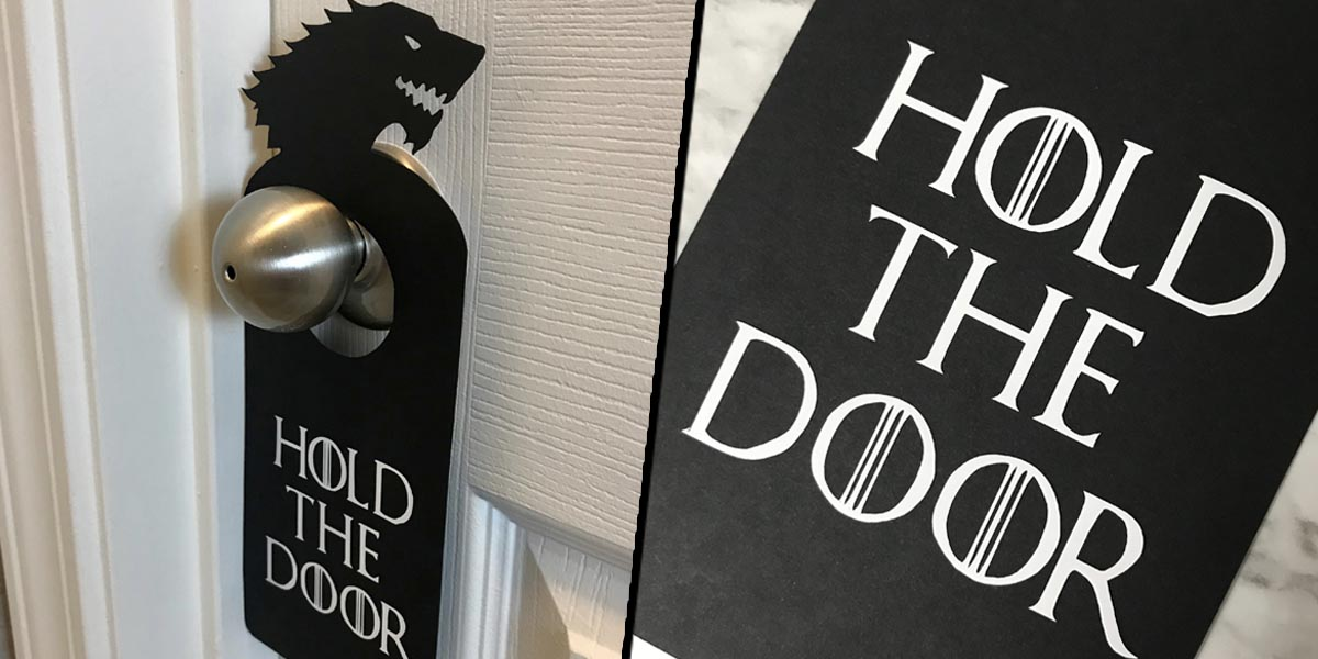 Hold the Door (Hanger)