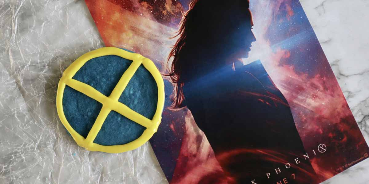 X-Men: Dark Phoenix Cookies