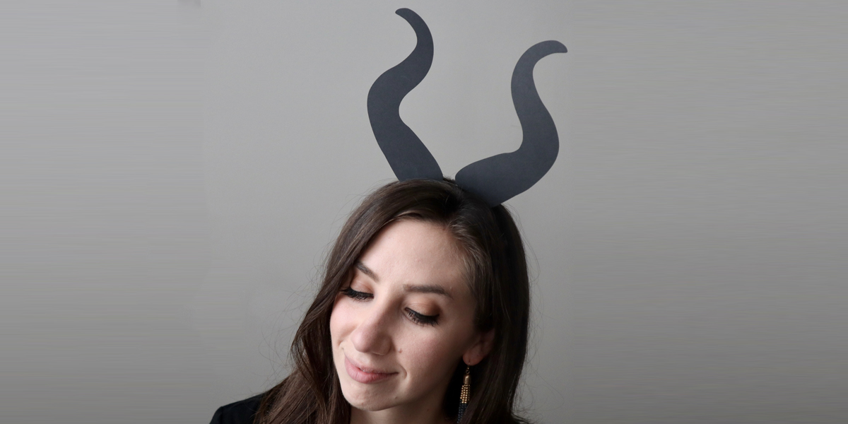 Make Your Own Maleficent Headband