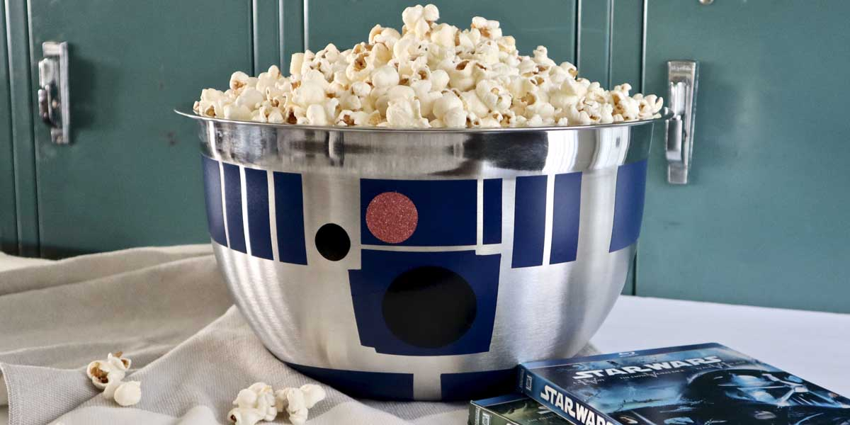 DIY Star Wars R2-D2 Bowl