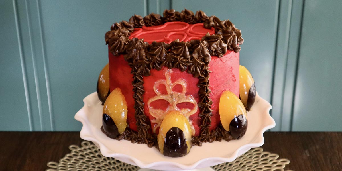 Queen Amidala Cake Inspired by Star Wars: The Phantom Menace