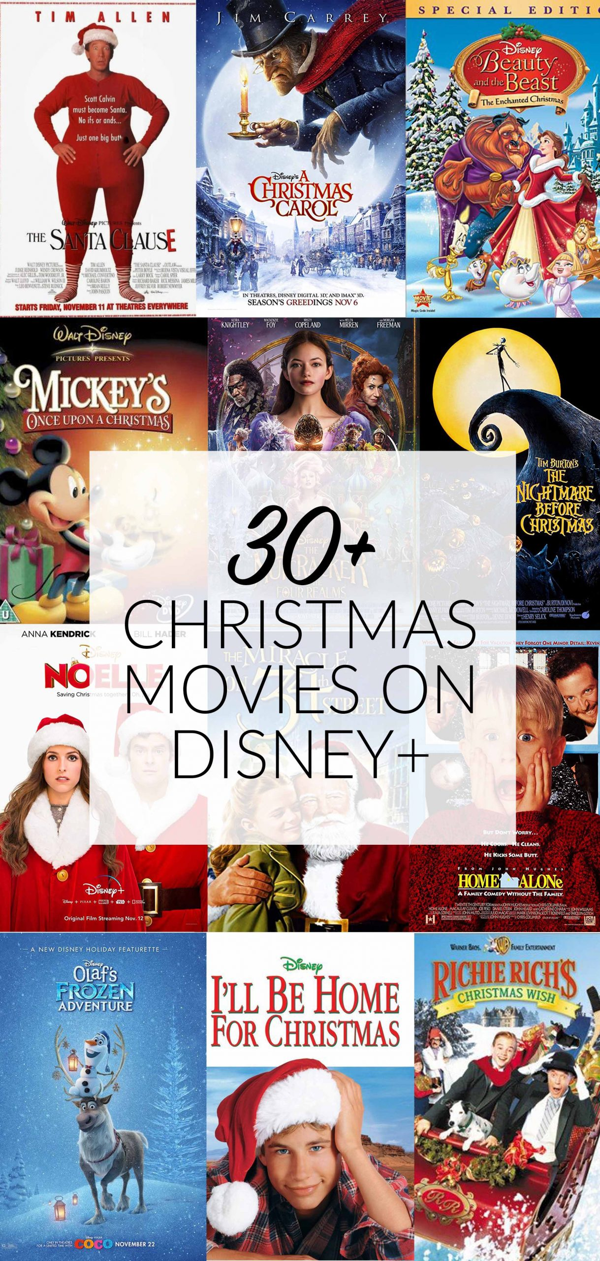 30+ Christmas Movies on Disney+ – Popcorner Reviews