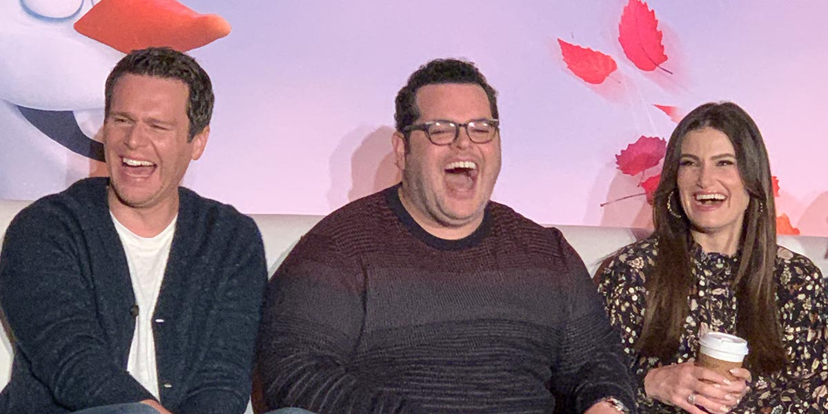 Frozen 2's Josh Gad Confesses He Was/Is Obsessed With This Cast Member