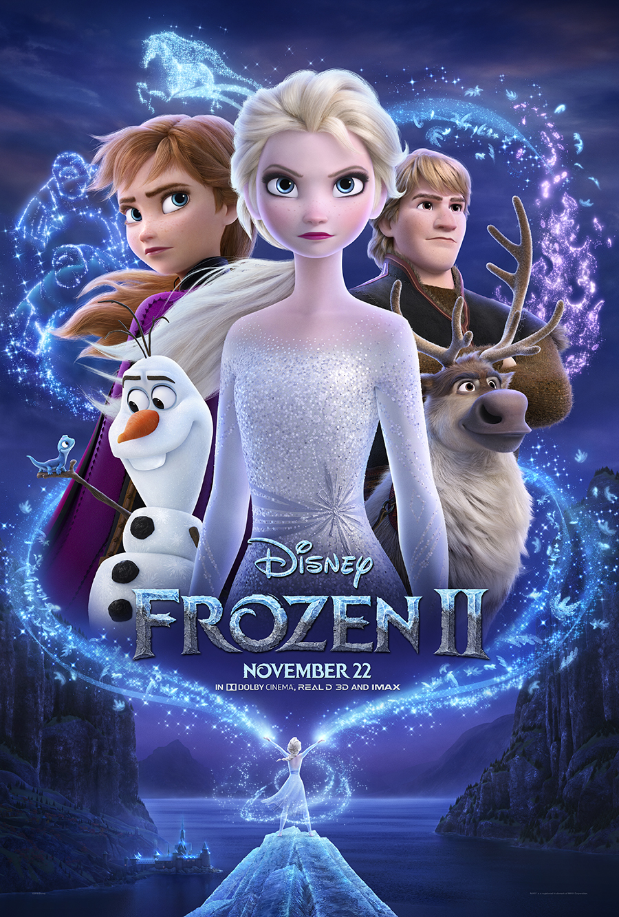Frozen 2 movie poster and movie review