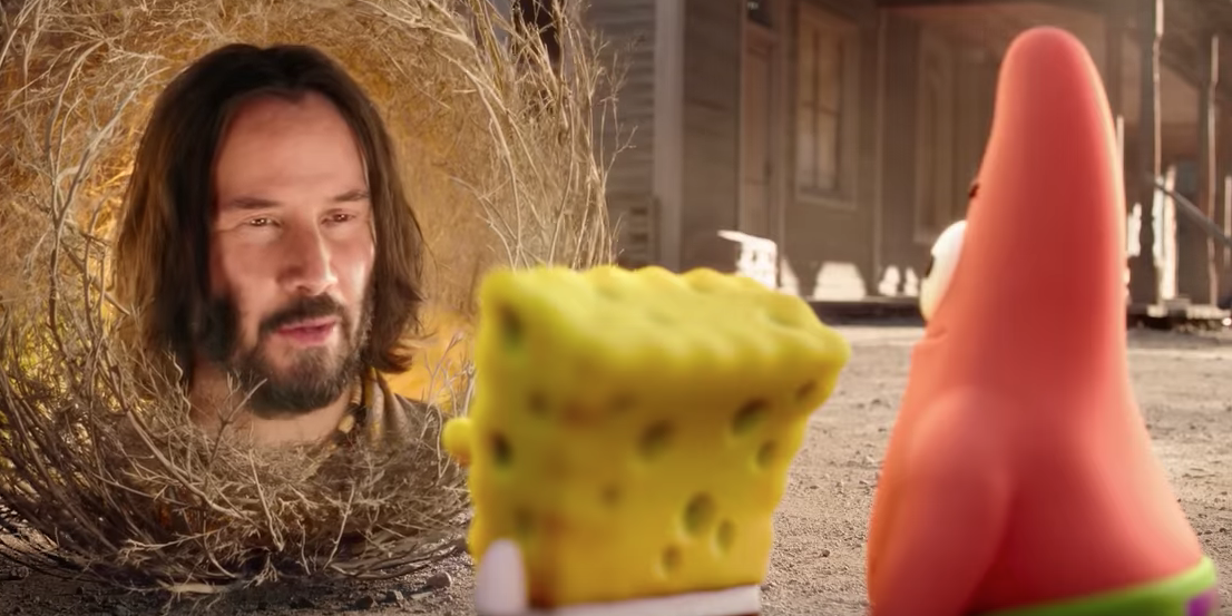 Watch the New SpongeBob Movie: Sponge on the Run Trailer — With Keanu Reeves?!