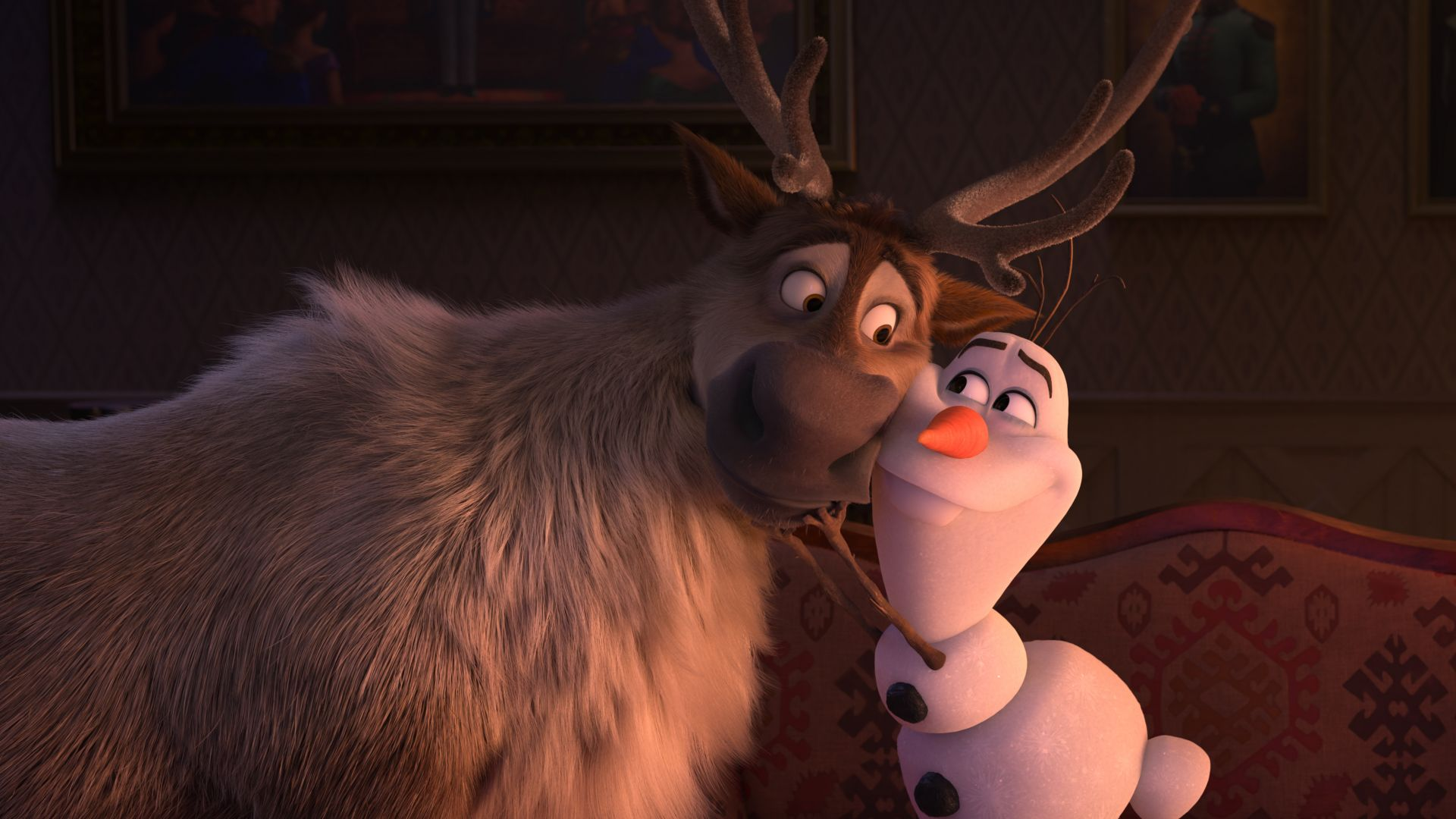 Olaf in Frozen 2 and movie review