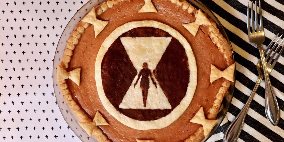 Black Widow Pumpkin Pie & Marvel Studios' New Black Widow Teaser Trailer