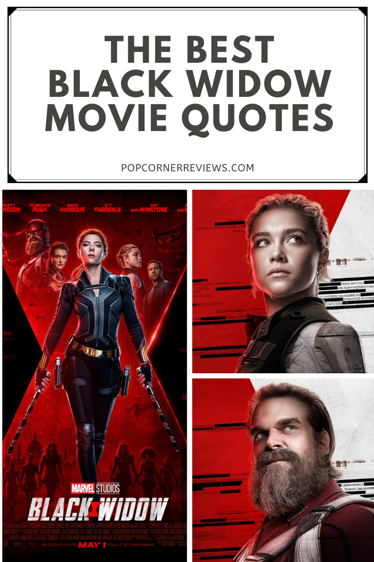 The Best Black Widow Quotes From The New Marvel Movie Popcorner Reviews