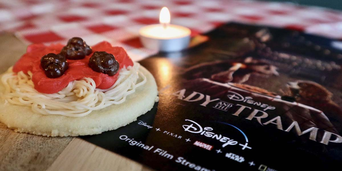 Spaghetti and Meatball Cookies — A Lady and the Tramp Recipe